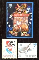 Albania 2005; Europa CEPT, Sport, Art, Circus; MNH, Neuf**, Postfrisch; CV €28 !! - Albania