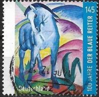 GERMANY 2012 Centenary Of Blue Rider Group - 145c Blue Horse (Franz Marc) FU - [7] Federal Republic