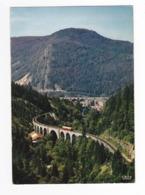 39 MOREZ N°767 Voie Ferrée Les Viaducs VOIR ZOOM Train Autorail Picasso SNCF Postée Des Rousses En 1968 - Trains