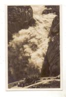 CH 3864 GUTTANNEN,Grimselstrasse, Handeckfall, Omnibus, 1930 - BE Berne