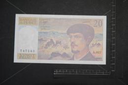 Billet, FRANCE, 20 Francs Debussy 1990  A.027 Quasi NEUF UNC - 1962-1997 ''Francs''