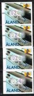 ALAND /Neuf **/MNH**/1997 - Timbres De Distributeurs - Série De 4 Valeurs - Aland