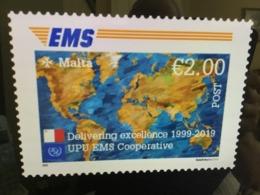 2019 Malta 20th Anniversary Of The EMS Cooperative Mint NH VF SG 2086 - Malta