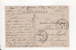 Cachet 1er Regiment Etranger Depot Lyon - Sonstige