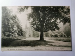 Lasauvage, Vue Sur Le Rocher Et L'église - Altri