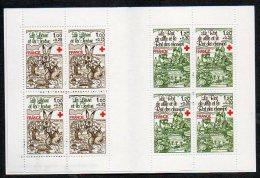 Timbres - Croix-Rouge - Fables De La Fontaine 1978 - Faciale 8.40 Fr Ou 1.28 € - Carnets