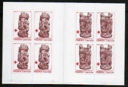 Timbres - Croix-Rouge - Cathédrale D' Amiens : Stalles 1980 - Faciale 10.40 Fr Ou 1.59 € - Carnets