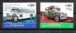 ARGENTINA 2019 TRANSPORT ANCIENNES OLD BUSES VINTAGE MNH - Bussen