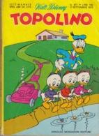 DISNEY - ALBUM TOPOLINO N°877 - 17 Settembre1972 - GIOCHI INTONSI NON SVOLTI - BOLLINI PUNTI - OTTIMO - Disney