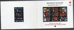 Timbres - Croix-Rouge - Vitraux église Sacré-coeur Audincourt 1981 - Faciale 12.00 Fr Ou 1.83 € - Carnets