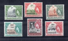 Leshoto - 1966 - Indipendenza - 6 Valori - Nuovi - Linguellati - (FDC16857) - Lesotho (1966-...)