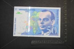 Billet, FRANCE, 50 Francs Saint Exupery 1993   V005053221 Quasi NEUF SPL ++ UNC - 1992-2000 Laatste Reeks