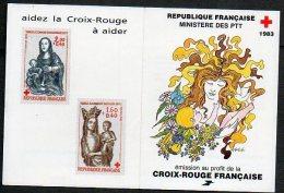 Timbres - Croix-Rouge - Vierge De Baillon 1983 - Faciale 14.40 Fr Ou 2.20 € - Carnets