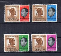 Leshoto - 1966 - Indipendenza - 4 Valori - Nuovi - Linguellati - (FDC16858) - Lesotho (1966-...)