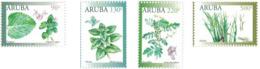 Aruba 2019, Medicinal Plants, 4val - Medicinal Plants