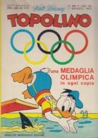 DISNEY - ALBUM TOPOLINO N°858 - 7 Maggio1972 - GIOCHI INTONSI NON SVOLTI - BOLLINI PUNTI - NO MEDAGLIA - COME NUOVO!!! - Disney