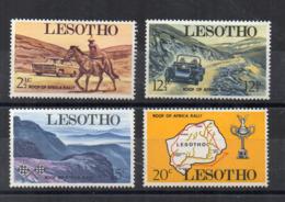 Leshoto - 1969 - Rally - 4 Valori - Nuovi - Linguellati - (FDC16860) - Lesotho (1966-...)