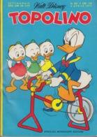 DISNEY - ALBUM TOPOLINO N°801 -4 Aprile 1971 - GIOCHI INTONSI NON SVOLTI - BOLLINI PUNTI - OTTIMO!!! - Disney