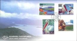 Griechenland 2001 FDC Einheimische Fauna Und Flora Michel 2071-2078 (2923 (2)) - FDC