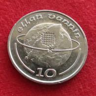 Isle Of Man 10 Pence 1988 AA KM# 210  Ile De Man Isla De Man Isola Di Man - Regionale Währungen