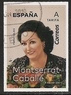 2019-ED. 5320 -PERSONAJES. MONTSERRAT CABALLÉ -USADO - 1931-Today: 2nd Rep - ... Juan Carlos I