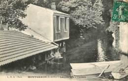 91 - Montgeron - Lavoir Sur L'Yerres - Oblitération Ronde De 1917 - Voir Scans Recto-Verso - Montgeron