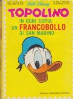 DISNEY - ALBUM TOPOLINO N°804 - 25 APRILE 1971 - BOLLINI PUNTI - NO FRANCOBOLLO - CONDIZIONI BUONE!!! - Disney