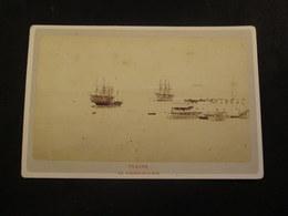 PHOTOGRAPHIE - TOULON - Vue Générale De La Rade  [Circa 1873] - Photos