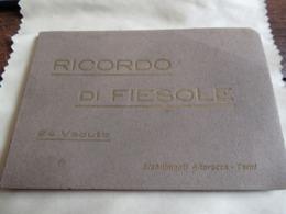 Petit Livret  Touristique/24 Vues/Pliage Accordéon/RICORDO Di FIESOLE/Florence/Toscane/Italie/ Vers 1900-20    PGC369 - Maps/Atlas