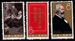 CHINE - N°1466/1468** - 145e ANNIVERSAIRE DE KARL MARX - SERIE COMPLETE. - Neufs