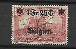 België TBezetting  N° 8 Cote 55 Euro - Guerra '14-'18