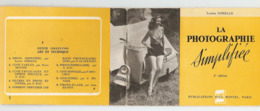 LIVRET 36 PAGES 1954 - LA PHOTOGRAPHIE SIMPLIFIEE Par LUCIEN LORELLE - PIN UP SCOOTER VESPA - Photographie