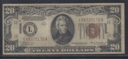 HAWAI P41 20 DOLLARS 1935A VF - Other - America