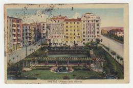 Trieste Plazza Carlo Alberto Old Postcard Travelled 1944? To Zagreb B190920 - Trieste