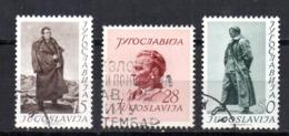 Serie   Nº 607/9  Yugoslavia - 1945-1992 República Federal Socialista De Yugoslavia