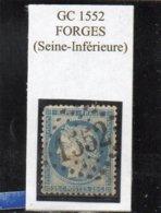 Seine-Maritime - N° 60C Obl GC 1552 Forges - 1871-1875 Cérès