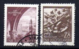 Serie   Nº 618/9  Yugoslavia - 1945-1992 República Federal Socialista De Yugoslavia