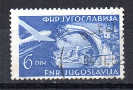 Sello   Nº  A-35  Yugoslavia - Aéreo
