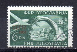 Sello   Nº  A-41  Yugoslavia - Aéreo