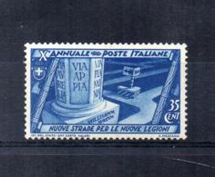 Italia - Regno - 1932 - Decennale Della Marcia Su Roma - 35 Centesimi - Nuovo - (FDC16867) - 1900-44 Victor Emmanuel III