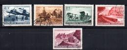 Serie   Nº  334/8   Yugoslavia - 1931-1941 Reino De Yugoslavia