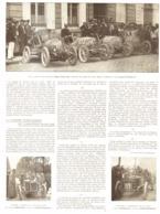 """LA COURSE   """" PARIS-MADRID """"  Et L'INDUSTRIE FRANCAISE   1903 - Other"""