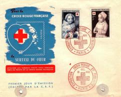 Enveloppe Croix-rouge Française - N° 914-915-15/12/1951 - Altri