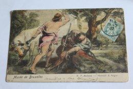 Musée De Bruxelles - P. P. Rubens - Mercure Et Argus - Musées