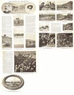 """PARIS-PEKIN En VOITURETTE """" DE DION-BOUTON  """" Et M. CORMIER   1907 - Transports"""