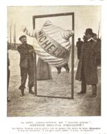 "LA COUPE "" GORDON-BENNETT ""  LE BIBENDUM "" MICHELIN ""  SERA T'IL DISQUALIFIE  1906 - Transports"