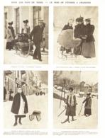 LE MOIS DE FEVRIER à CHAMONIX  1906 - Alpes - Pays-de-Savoie
