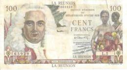 REUNION P45 100 FRANCOS 1947 F / VF - Réunion