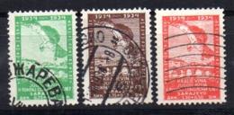 Serie   Nº  255/7   Yugoslavia - 1931-1941 Reino De Yugoslavia