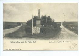 57- SCHLACHTFELD  Metz NELS SERIE 107 N° 66 Ostfries Bei Gorze - Autres Communes